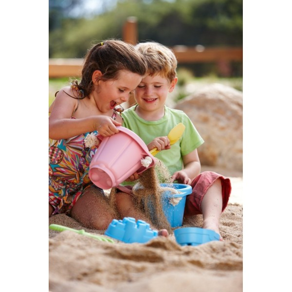 Green Toys: Sand Play Set - Pink #SNDP-1023