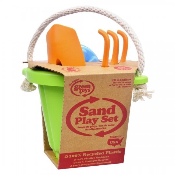 Green Toys: Sand Play Set - Green #SND01R